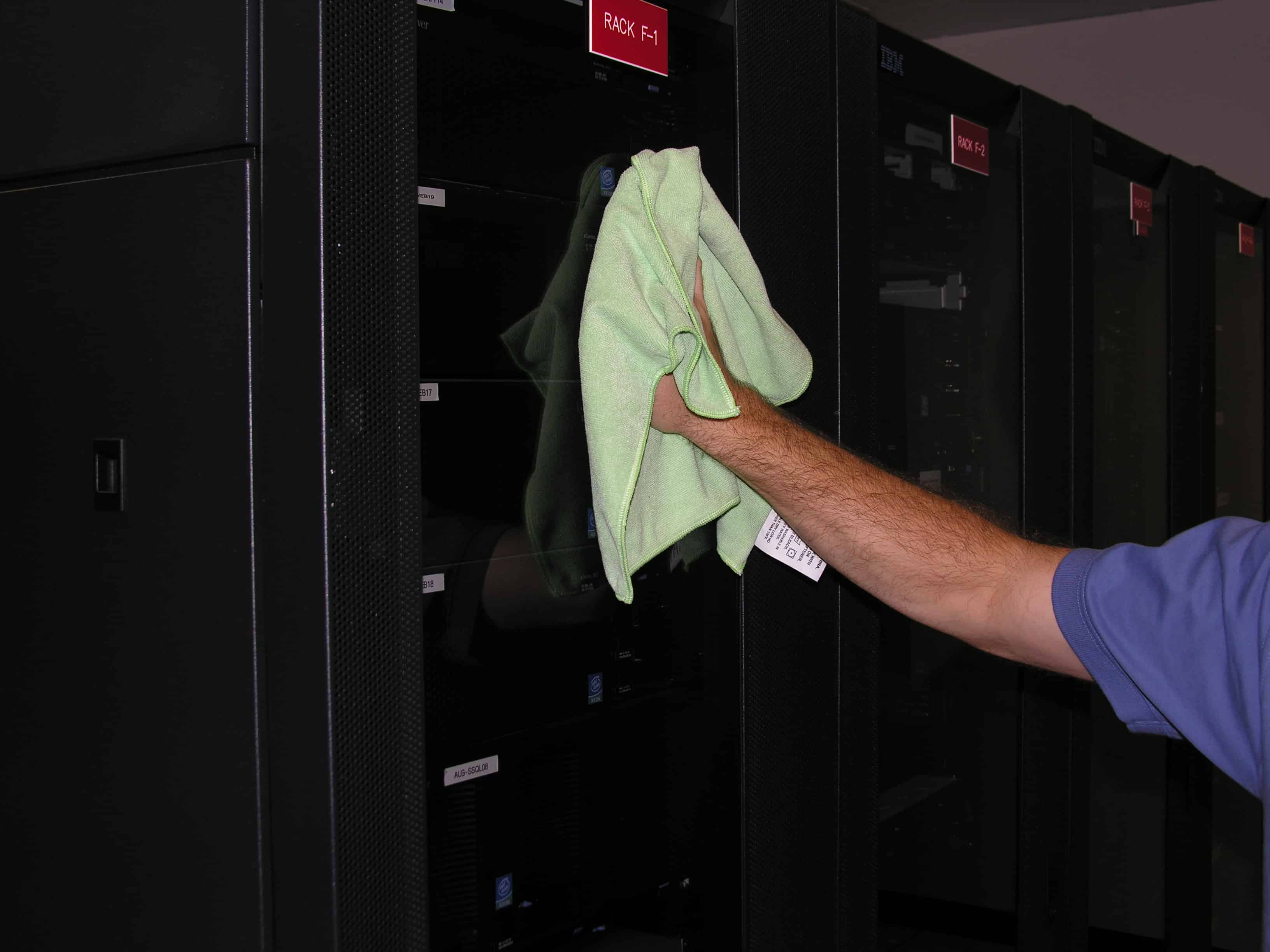 Data center cleaning - equipment
